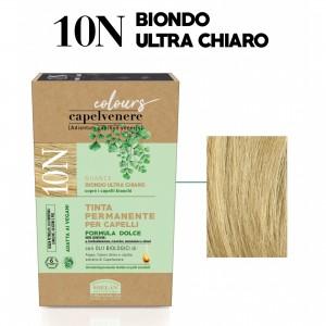 Μόνιμη Φυτική  βαφή μαλλιών Vegan με βιολογικά έλαια 10N  Ξανθό πολύ ανοικτό Βαφές Μαλλιών Βιολογικά Προϊόντα - hqbbs.gr