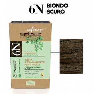 Μόνιμη Φυτική  βαφή μαλλιών vegan με βιολογικά έλαια 6N Ξανθό σκούρο Βαφές Μαλλιών Βιολογικά Προϊόντα - hqbbs.gr