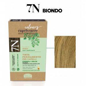 Μόνιμη Φυτική  βαφή μαλλιών Vegan με βιολογικά έλαια 7N Ξανθό Βαφές Μαλλιών Βιολογικά Προϊόντα - hqbbs.gr