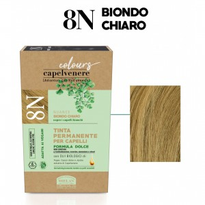 Μόνιμη Φυτική  βαφή μαλλιών Vegan με βιολογικά έλαια 8N Ξανθό Ανοικτό Βαφές Μαλλιών Βιολογικά Προϊόντα - hqbbs.gr
