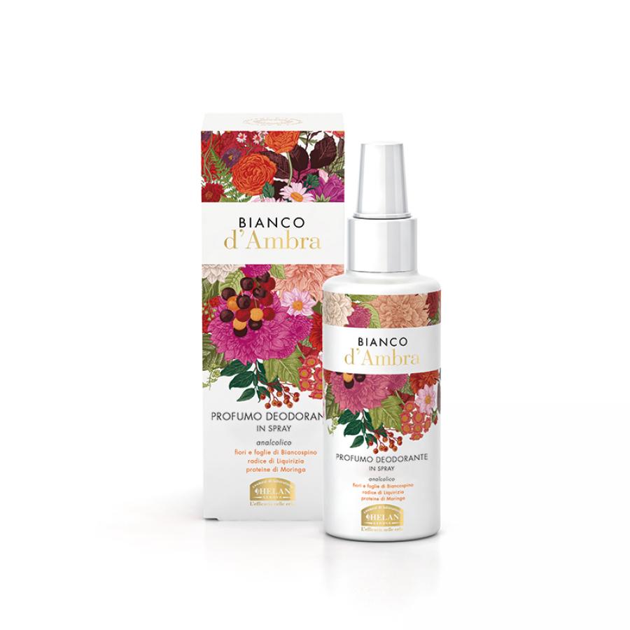 Bianco D'Ambra Scented Deodorant Spray Alcohol free  Αποσμητικά γυναικεία Βιολογικά Προϊόντα - hqbbs.gr