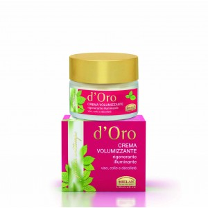 D'ORO volumizing Cream regenerating brightening face, neck, decollete Elisir D'oro advance cosmetic treatments Βιολογικά Προϊόντα - hqbbs.gr