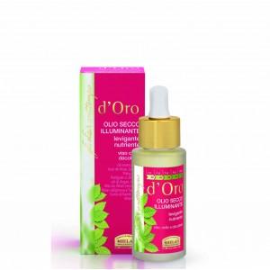 D'ORO Dry Oil Radiance θρεπτικό ενυδατικό λάδι για πρόσωπο, λαιμό, ντεκολτέ Elisir D'oro advance cosmetic treatments Βιολογικά Προϊόντα - hqbbs.gr