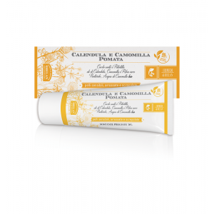 Marigold and Camomile Ointment 75ml Pomate ointment and gels Βιολογικά Προϊόντα - hqbbs.gr