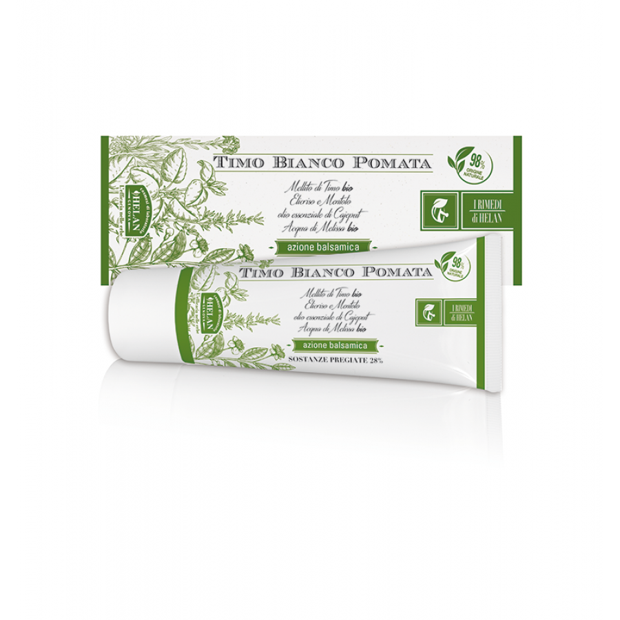 White Thyme Ointment 75ml Pomate ointment and gels Βιολογικά Προϊόντα - hqbbs.gr