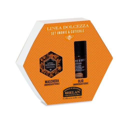 SET Dolcezza  λάδι  & μάσκα για παρανυχίδες και νύχια