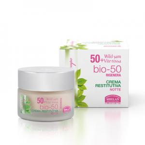 RIGENERA Επανορθωτική Κρέμα Νύχτας για ηλικίες 50+ Αντιρυτιδικά προϊόντα ELISIR Βιολογικά Προϊόντα - hqbbs.gr