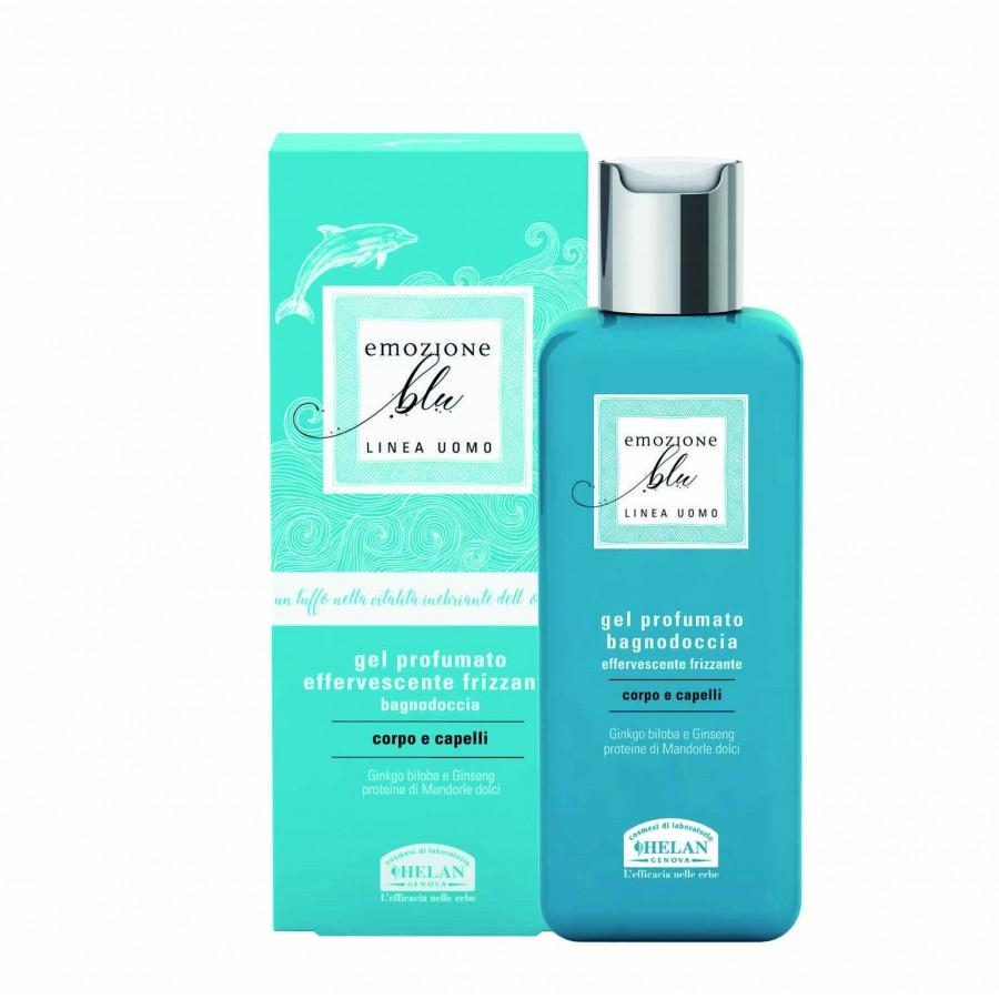 NEW EMOZIONE BLU Scented Gel Bath and Shower  Αφρόλουτρα & σαπούνια Βιολογικά Προϊόντα - hqbbs.gr