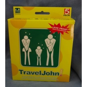Travel John-VomitX σακούλες εμετού 5τμχ TRAVEL JOHN WC-VomitX Βιολογικά Προϊόντα - hqbbs.gr