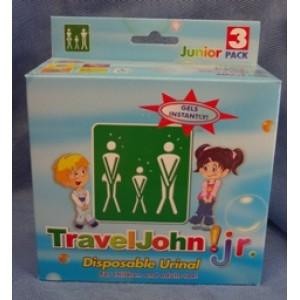Travel John-My WC  παιδικό  WC  3τμχ TRAVEL JOHN WC-VomitX Βιολογικά Προϊόντα - hqbbs.gr